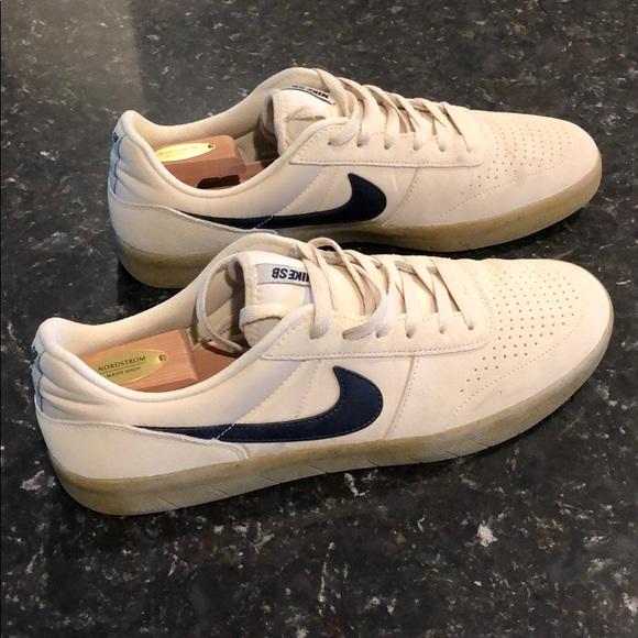 Nike Sb Gum Sole Offwhite Casual Shoe